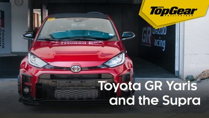Toyota GR Track Day with the GR Yaris and the Supra