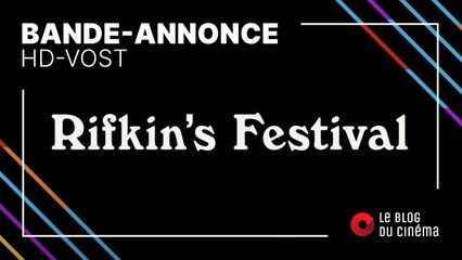 RIFKIN'S FESTIVAL : bande-annonce [HD-VOST]