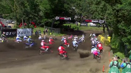 Gajser takes overall victory in MXGP of the Netherlands