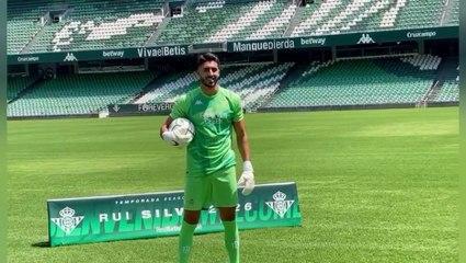 La presentación de Rui Silva con el Betis