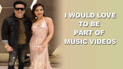 I would love to be a part of music videos : Govinda's daughter Tina