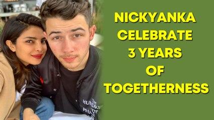 Priyanka Chopra and Nick Jonas celebrate three years of togetherness