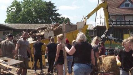 Кто и как помогает в Германии пострадавшим в зоне бедствия (20.07.2021)