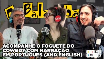 Acompanhe O Foguete Do Cowboy Com Narração Em Português (And English)