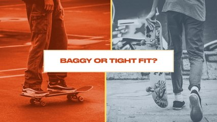 Either, Or: Baggy or Tight Fit Pants