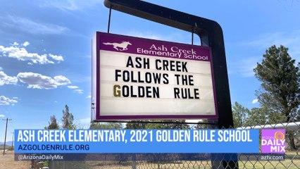 Ash Creek Elementary is the 2021 Golden Rule School!