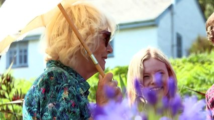 Charles and Camilla receive fishy gifts on Isles of Scilly