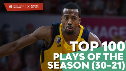 Top 100 Plays of the Season (30-21)