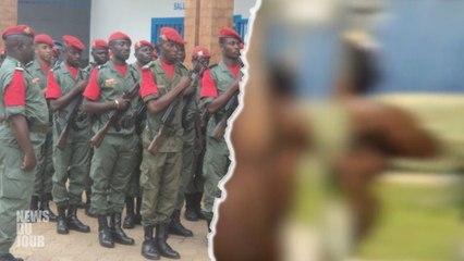 CAMEROUN - DES GENDARMES INTERROMPENT UNE PART ZE GEANTE  D'UNE VINGTAINE DE PERSONNES
