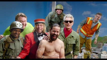 Johnny Knoxville, Steve-O, Eric André In 'Jackass Forever' First Trailer