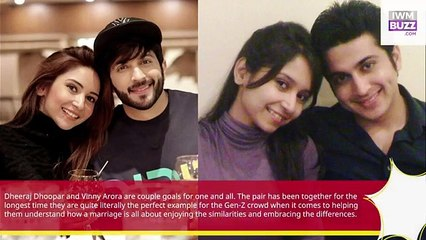 Then Vs Now Dheeraj Dhoopar wife Vinny Aroras adorable romantic journey check out pics