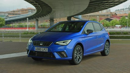 The new SEAT Ibiza XC Exterior Design in Saphire Blue