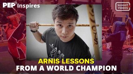 Matuto ng Filipino Martial Arts na Arnis gamit ang TikTok | PEP Inspires