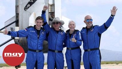 El primer vuelo de pasajeros al espacio