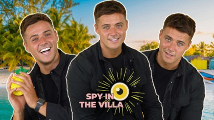 """""""It's a game and she's playing it!""""   Brad McClelland answers BIG questions Love Island questions!"""