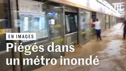 Piégé dans le métro : des pluies meurtrières balayent la métropole chinoise de Zhengzhou