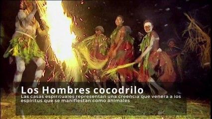 Los 'hombres cocodrilo' de Papúa Nueva Guinea