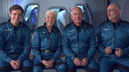 Blue Origin de Jeff Bezos completa su primer vuelo de pasajeros al espacio