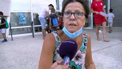 Réactions des parents et des enfants du stage d'aisance aquatique à Istres