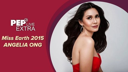 WATCH:  Miss Earth 2015 Angelia Ong on PEP Live EXTRA!