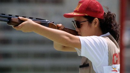 Why don't men and women compete against each other in shooting?