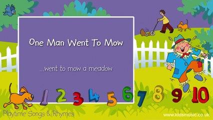 Kidzone - One Man Went To Mow