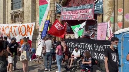 Sans-papiers: des grévistes de la faim exténués