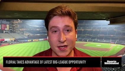 Estevan Florial Takes Advantage of Latest MLB Opportunity