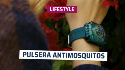 [CH] Pulsera antimosquitos natural
