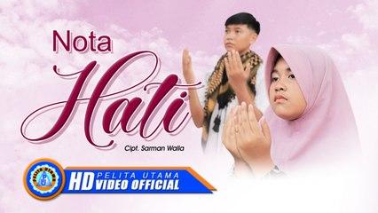 Alfira ZW Ft. Ahmad AW - NOTA HATI ( Official Music Video )
