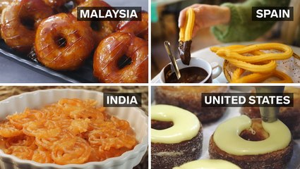 What fried dough looks like around the world