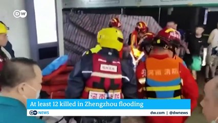 China- Heavy rains cause deadly floods in Henan province