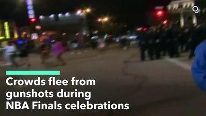 Milwaukee Crowds Flee From Gunshots During NBA Finals Celebrations
