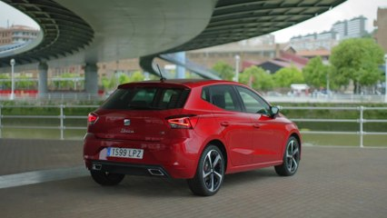 The new SEAT Ibiza FR Exterior Design in Desire Red