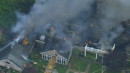 Deux adultes et quatre enfants survivent à l'explosion d'une maison en Pennsylvanie