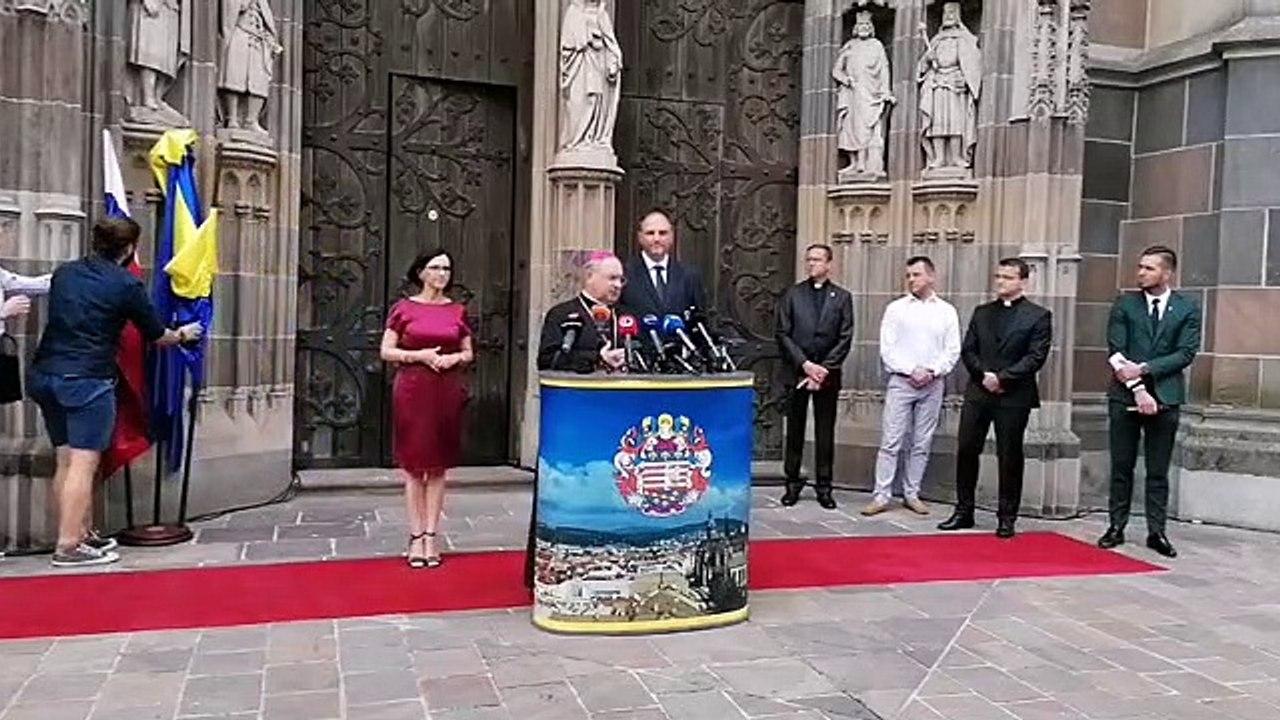 ZÁZNAM: TK primátora mesta Košice Jaroslava Polačeka k návšteve pápeža na Slovensku