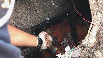 In Schredder gelandet: Teenager auf Müllhalde gerettet