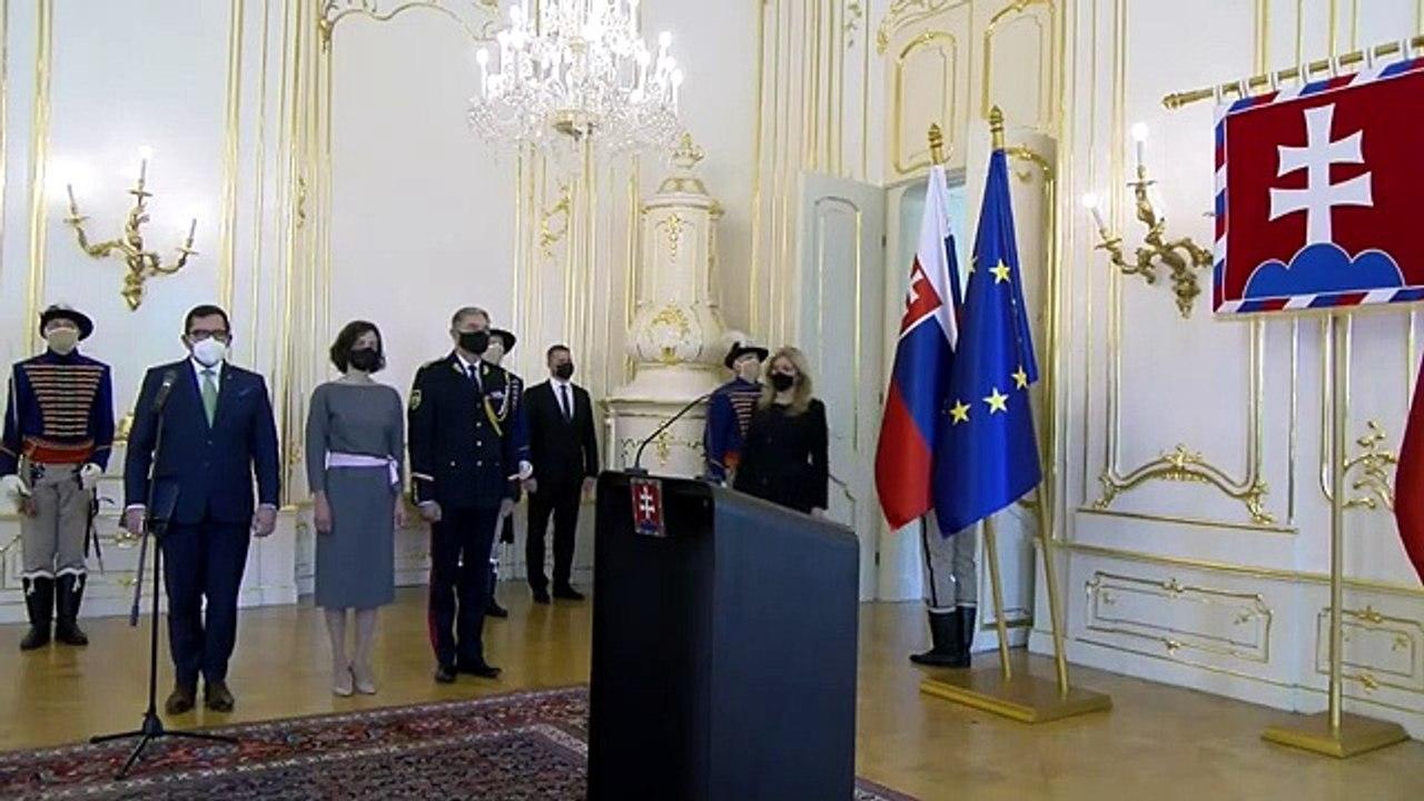 ZÁZNAM: Príhovor prezidentky po poverení vedúcich diplomatických misií SR v zahraničí
