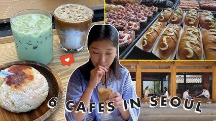 6 BEST Cafés In Seoul, Korea (FT. Hye Won Jang) | K-Loka