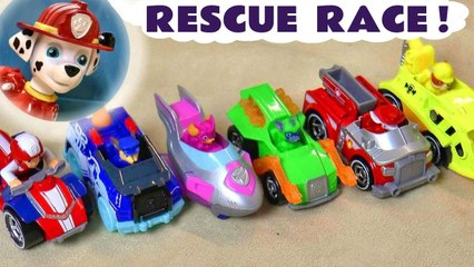 Paw Patrol Mighty Pups Toys Rescue Race Competition versus Paw Patrol Toys Sweetie in this Family Friendly Full Episode English Toy Story Video for Kids from Kid Friendly Family Channel Toy Trains 4U