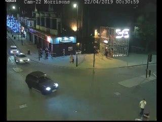 CCTV footage shows Jordan Pearce's dangerous driving