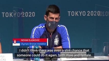 Djokovic hoping to join legend Graf as Golden Slam winner