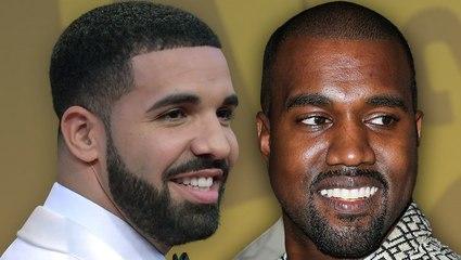 Kanye West & Drake Friends Again?