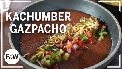 Hetal Vasavada makes Kachumber Gazpacho | Food & Wine Cooks