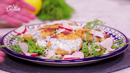 Tortitas de salmón. | Cocina Delirante
