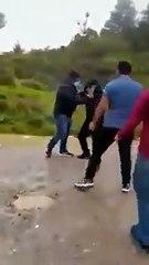 """Agentes de la PNC fueron agredidos por presuntos """"Coyotes"""" en Huehuetenango"""