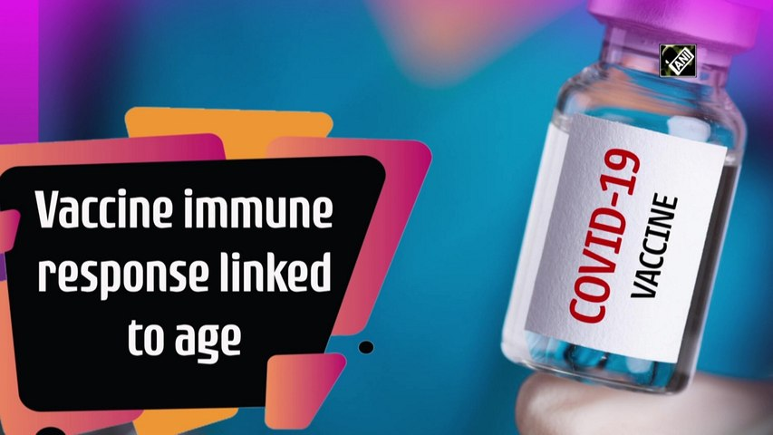 Covid-19 vaccine immune response linked to age