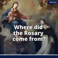 Where did the Rosary come from?
