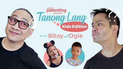 Kids Ask Michael V. And Ogie Alcasid Random (And Hilarious) Questions   Smart Parenting