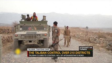 Taliban claims to control 90% of Afghanistan's borders - Moscow announces drills in Uzbekistan